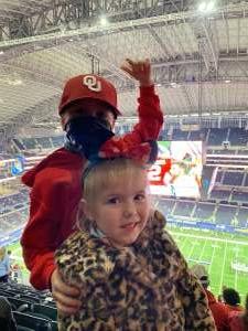Leslie attended Goodyear Cotton Bowl Classic - Florida vs. Oklahoma - NCAA Football on Dec 30th 2020 via VetTix