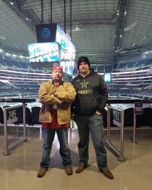 Wesley attended Goodyear Cotton Bowl Classic - Florida vs. Oklahoma - NCAA Football on Dec 30th 2020 via VetTix