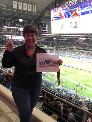 Go Sooners  attended Goodyear Cotton Bowl Classic - Florida vs. Oklahoma - NCAA Football on Dec 30th 2020 via VetTix
