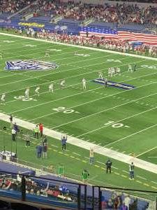 Tony C attended Goodyear Cotton Bowl Classic - Florida vs. Oklahoma - NCAA Football on Dec 30th 2020 via VetTix