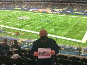 Ed Manning attended Goodyear Cotton Bowl Classic - Florida vs. Oklahoma - NCAA Football on Dec 30th 2020 via VetTix