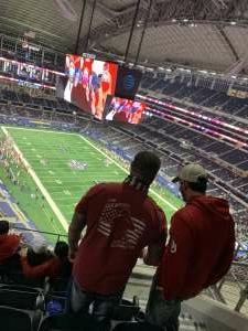 Coby  attended Goodyear Cotton Bowl Classic - Florida vs. Oklahoma - NCAA Football on Dec 30th 2020 via VetTix