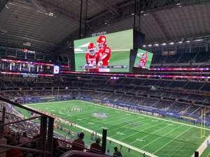 Jonathan Merrill attended Goodyear Cotton Bowl Classic - Florida vs. Oklahoma - NCAA Football on Dec 30th 2020 via VetTix