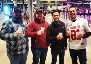 David Bayler attended Goodyear Cotton Bowl Classic - Florida vs. Oklahoma - NCAA Football on Dec 30th 2020 via VetTix