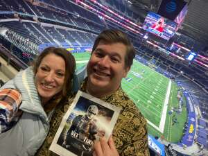 Cotton Bowl Fun attended Goodyear Cotton Bowl Classic - Florida vs. Oklahoma - NCAA Football on Dec 30th 2020 via VetTix