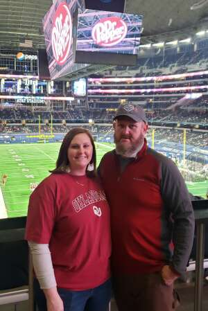 Aletha H attended Goodyear Cotton Bowl Classic - Florida vs. Oklahoma - NCAA Football on Dec 30th 2020 via VetTix