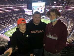 Levi W. attended Goodyear Cotton Bowl Classic - Florida vs. Oklahoma - NCAA Football on Dec 30th 2020 via VetTix