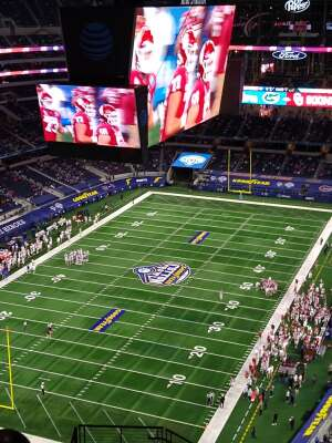 Mike attended Goodyear Cotton Bowl Classic - Florida vs. Oklahoma - NCAA Football on Dec 30th 2020 via VetTix