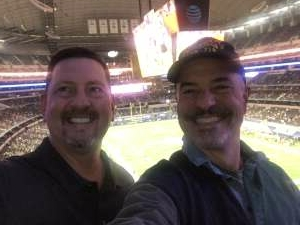 TMG attended Goodyear Cotton Bowl Classic - Florida vs. Oklahoma - NCAA Football on Dec 30th 2020 via VetTix