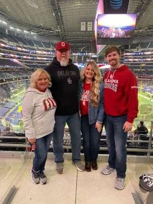 Lonnie attended Goodyear Cotton Bowl Classic - Florida vs. Oklahoma - NCAA Football on Dec 30th 2020 via VetTix