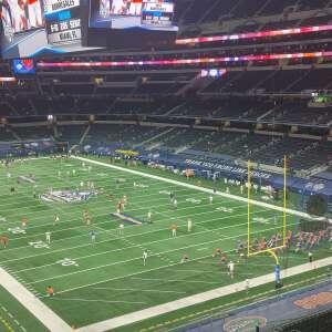 Rodney attended Goodyear Cotton Bowl Classic - Florida vs. Oklahoma - NCAA Football on Dec 30th 2020 via VetTix