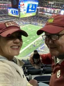 Karli attended Goodyear Cotton Bowl Classic - Florida vs. Oklahoma - NCAA Football on Dec 30th 2020 via VetTix