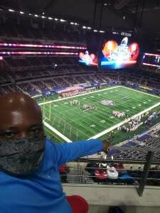 Orlando attended Goodyear Cotton Bowl Classic - Florida vs. Oklahoma - NCAA Football on Dec 30th 2020 via VetTix