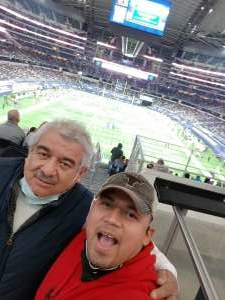 thumper225.nm attended Goodyear Cotton Bowl Classic - Florida vs. Oklahoma - NCAA Football on Dec 30th 2020 via VetTix
