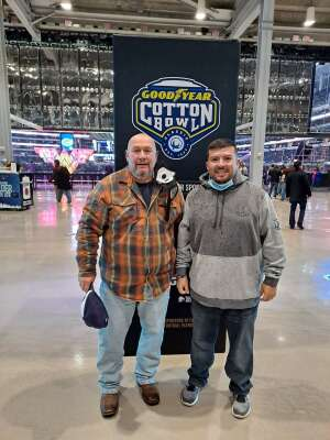 MSG Martinez US Army Retired attended Goodyear Cotton Bowl Classic - Florida vs. Oklahoma - NCAA Football on Dec 30th 2020 via VetTix