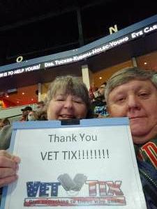 Randy Wolfe attended Rapid City Rush vs Allen Americans - ECHL on Jan 8th 2021 via VetTix