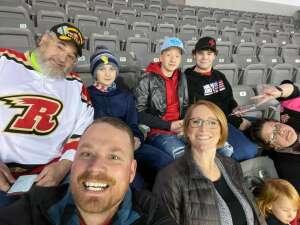 Mama Bear attended Rapid City Rush vs Allen Americans - ECHL on Jan 8th 2021 via VetTix