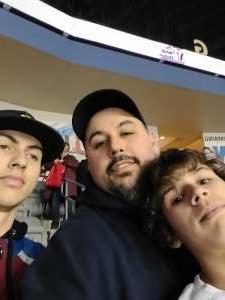 Danny B attended Rapid City Rush vs Allen Americans - ECHL on Jan 8th 2021 via VetTix