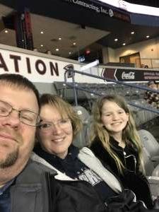 Mike attended Rapid City Rush vs Allen Americans - ECHL on Jan 8th 2021 via VetTix
