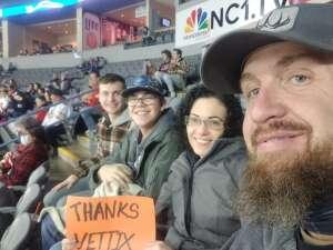 rob attended Rapid City Rush vs Allen Americans - ECHL on Jan 8th 2021 via VetTix