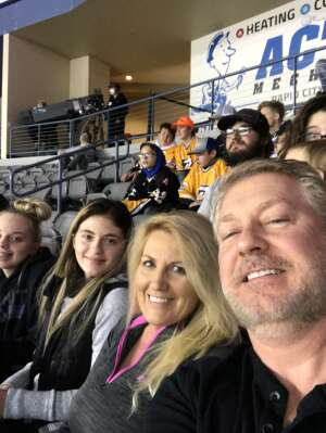 S Krebs attended Rapid City Rush vs Allen Americans - ECHL on Jan 9th 2021 via VetTix