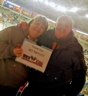 Randy Wolfe attended Rapid City Rush vs Tulsa Oilers - ECHL on Jan 15th 2021 via VetTix