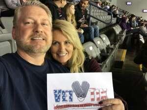 S Krebs attended Rapid City Rush vs Tulsa Oilers - ECHL on Jan 15th 2021 via VetTix
