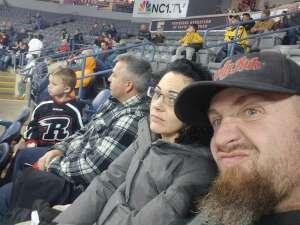 Rob attended Rapid City Rush vs Tulsa Oilers - ECHL on Jan 15th 2021 via VetTix