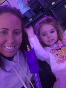 Amanda  attended Disney on Ice Presents Dream Big on Jan 18th 2021 via VetTix
