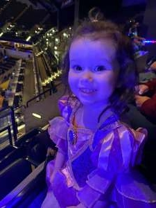 Matthew Bischoff attended Disney on Ice Presents Dream Big on Jan 18th 2021 via VetTix