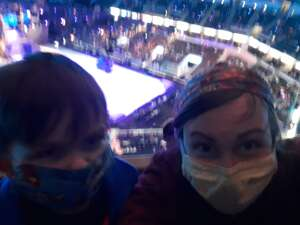 Andrew attended Disney on Ice Presents Dream Big on Jan 18th 2021 via VetTix