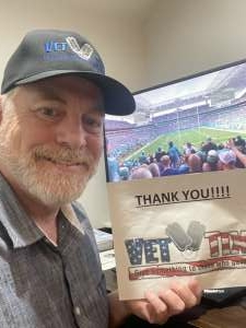David attended Live Virtual Event: AvMed College Football Playoff Championship Kickoff 3- Guest Coaches ......and more! on Jan 6th 2021 via VetTix