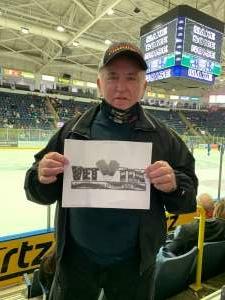 Richard Crawford attended Florida Everblades vs. Jacksonville Icemen - ECHL on Jan 13th 2021 via VetTix