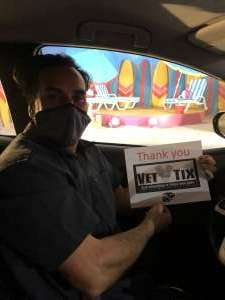Steve attended Happy Place - the Drive Thru on Jan 14th 2021 via VetTix