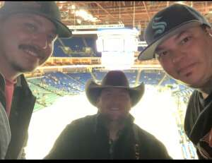 Ricky  attended Tulsa Oilers vs Utah Grizzlies - ECHL on Jan 8th 2021 via VetTix