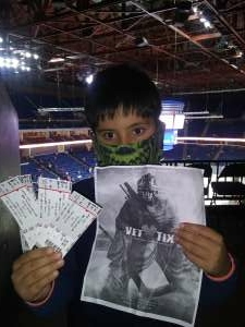 Tim attended Tulsa Oilers vs Utah Grizzlies - ECHL on Jan 8th 2021 via VetTix