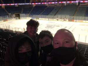 Andy R attended Tulsa Oilers vs Utah Grizzlies - ECHL on Jan 9th 2021 via VetTix