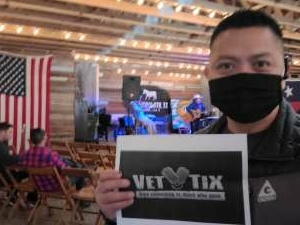 Marc attended VIP Whiskey Pass on Jan 16th 2021 via VetTix