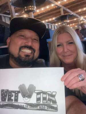 Tommie Clasknn Joh attended VIP Whiskey Pass on Jan 16th 2021 via VetTix