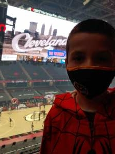 Mike attended Cleveland Cavaliers vs. Memphis Grizzlies - NBA on Jan 11th 2021 via VetTix