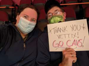 James attended Cleveland Cavaliers vs. Memphis Grizzlies - NBA on Jan 11th 2021 via VetTix