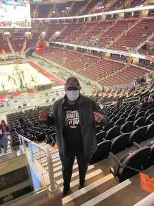 Art Givens attended Cleveland Cavaliers vs. Memphis Grizzlies - NBA on Jan 11th 2021 via VetTix