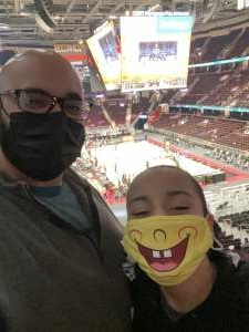 J attended Cleveland Cavaliers vs. Memphis Grizzlies - NBA on Jan 11th 2021 via VetTix