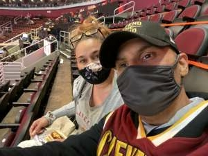Rosalio Sanchez attended Cleveland Cavaliers vs. Memphis Grizzlies - NBA on Jan 11th 2021 via VetTix