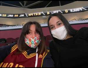 Joey attended Cleveland Cavaliers vs. Memphis Grizzlies - NBA on Jan 11th 2021 via VetTix