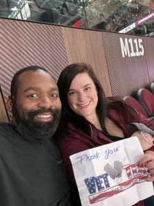 Ellis attended Cleveland Cavaliers vs. Memphis Grizzlies - NBA on Jan 11th 2021 via VetTix