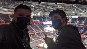 David Merendino attended Cleveland Cavaliers vs. Utah Jazz - NBA on Jan 12th 2021 via VetTix