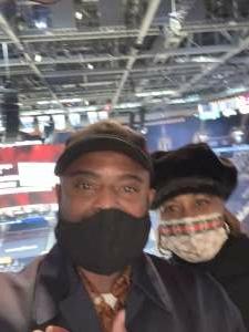 Larry Mack attended Cleveland Cavaliers vs. Utah Jazz - NBA on Jan 12th 2021 via VetTix