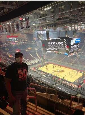 Arthur Givens attended Cleveland Cavaliers vs. Utah Jazz - NBA on Jan 12th 2021 via VetTix