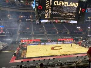 David Thorne attended Cleveland Cavaliers vs. Utah Jazz - NBA on Jan 12th 2021 via VetTix